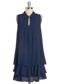 Cascade in the Shade Dress