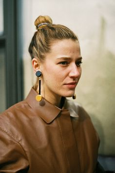 marni clip on earrings