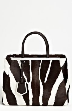 Fendi '2Jours - Medium' Calf Hair Shopper available at #Nordstrom