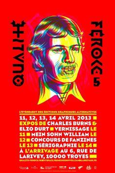 Festival Qualité feroce 2013, L'événement des éditions graphiques alternatives, Troyes