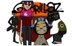 The Gorillaz Band Cartoon Damon Albarn Music Poster 11x17
