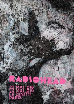 RADIOHEAD en concert à Paris en Mai 2016 - Ouverture des billetteries le 18 mars 2016