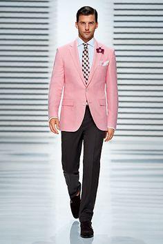 JoS. A. Bank Pink Seersucker Suit | My Style | Pinterest | Shops ...