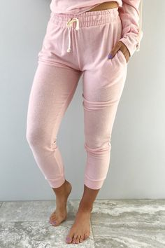 UGH Monday Pants: Baby Pink