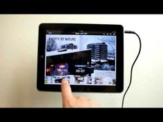 Dwell Magazine iPad App Demo - YouTube
