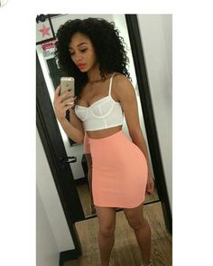 Image about girl in Cute Outfits by Vanessa Couture Dope Outfits, Skirt Outfits, Fashion Outfits, Glamour, Girl Swag, Fashion Killa, Swagg, Playsuit, Spring Summer Fashion