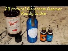 All Natural Classroom Cleaner