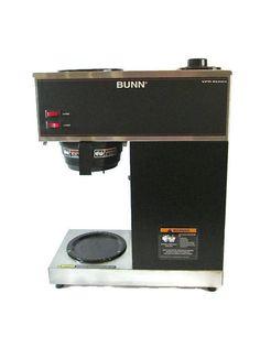 Old Bunn Coffee Maker Parts : Bunn coffee makers, Bunn coffee and Coffee maker on Pinterest