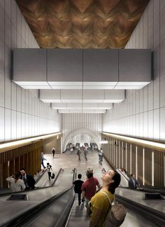 Gallery of Crossrail Unveils New Station Designs for London's Elizabeth Line - 9