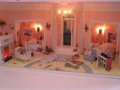 Robin Williams Bedroom 1:12 scale miniature roombox based on the children's room from the