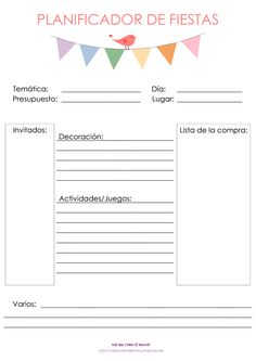 Planners, Candy Bar Party, Happy Party, Ideas Para Fiestas, Spa Party, Mom Birthday, Graphic Organizers, Holidays And Events, Event Planning