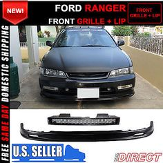 90 91 92 93 honda accord type r style grill  mugen style lip
