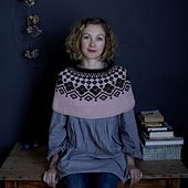 Ravelry: Sweetie Pie Capelet pattern by Claire Montgomerie for Loop London's '10'