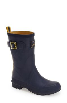 Joules 'Kelly Welly' Rain Boot (Women) available at #Nordstrom