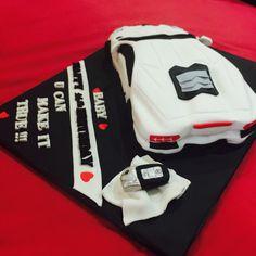 Lamborghini cake Men Birthday, Birthday Cakes For Men, Lamborghini Cake, Baby Makes, Gym Bag, Witch, Baking, How To Make, Bags