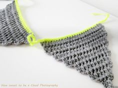 Knitted bunting? Why not :-)