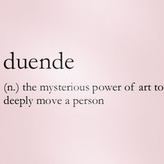 Love this definition