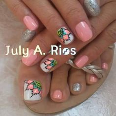 Toe nails Trendy Gel Pedicure Toes Toenails Design Do You Know How To Vacuum? Pedicure Nail Art, Pedicure Designs, Toe Nail Designs, Pretty Toe Nails, Cute Toe Nails, Toe Nail Color, Toe Nail Art, Feet Nail Design, Summer Toe Nails