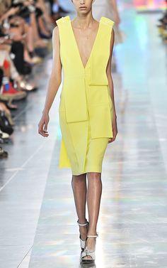Christopher Kane Deep V Bolt Dress -- Moda Operandi
