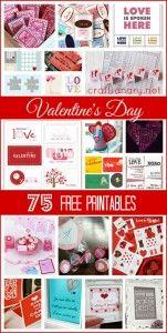 valentines day free printables