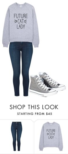 """Untitled #180"" by cruciangyul on Polyvore featuring J Brand and Converse"