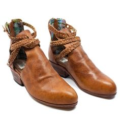 I'd pair these booties with some denim cutoffs and a loose white button up!