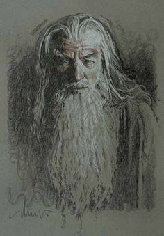 Drew Struzan-Dumbledore?  I see it as Dumbledore!