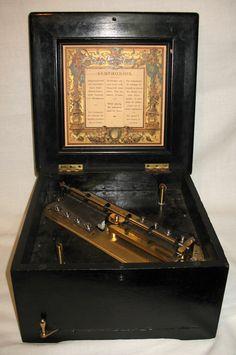 disc musical box-- gorgeous