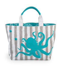 Take a look at this Octopus Sebring Tote by Lindsay Phillips on #zulily today!