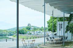 koé pizza – artless Inc. | news & archives Branding Agency, Kyoto, Tokyo, Patio, Architecture, Outdoor Decor, Design, Arquitetura, Terrace