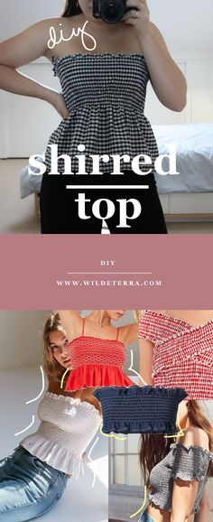 34 Ideas Fashion Diy Top Inspiration For 2019 Diy Clothes Refashion, Diy Clothing, Sewing Clothes, Diy Clothes Makeover, Diy Kleidung Upcycling, Diy Paso A Paso, Diy Beauté, Diy Fashion Projects, Diy Tops