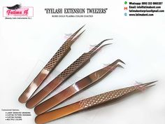 #Eyelash_Extension_Tweezer •Pick Our Tweezers For Perfect Lash Gripping•  • Place your order in my inbox   Customize Options : •#LASER_ENGRAVED_BRANDING •#CUSTOM_PATTERN_DESIGNING •#MULTIPLE_COLORS •#CUSTOM_PACKING  Contact us for Catalouge With #PRICE List Whatsapp: 0092 3338665257 www.fatimabent.com  #fatimabenterprises #volumeeyelashextensions #individualeyelashextensions #eyelashstylist #eyelashhomeservice #yumilashes #classiclashes #ardelllashes #hybridlashes #volumelashes #ru Volume Eyelash Extensions, Individual Eyelash Extensions, Ardell Lashes, Gold Tips, Volume Lashes, Price List, Beauty Care, Eyelashes, Custom Design
