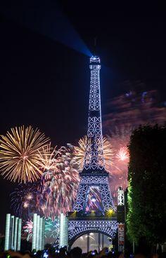 Paris's fireworks.