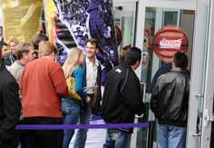 Patrick Swayze Lisa Niemi Photos: Celebs At Lakers Game