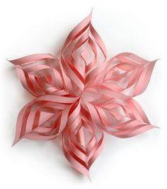 Anleitung für Weihnachtssterne aus Papier | Meine Svenja