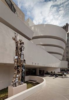 Guggenheim Museum New York, Franck Lloyd Wright