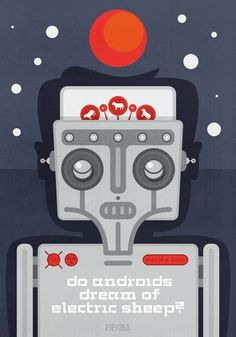 Alternative Book Cover:  Do Androids Dream of Electric Sheep? by Phillip K. Dick