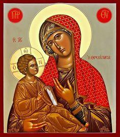 Maica Domnului cu pruncul.icon orthodox