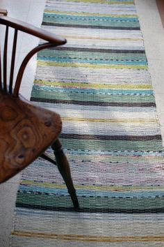 """Cotton rag rug """"Geranium"""""""