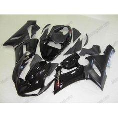 Kawasaki NINJA ZX6R 2005-2006 Injection ABS Fairing - Others - All Black | $639.00