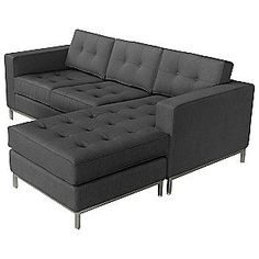 Jane Loft Bi Sectional in Totem Storm -- See this great product.Note:It is affiliate link to Amazon. #StunningLivingRoom