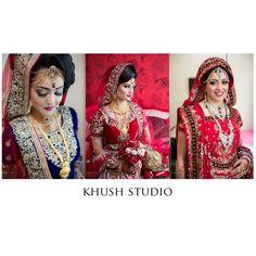 This months lovely brides. www.khushstudio.co.uk
