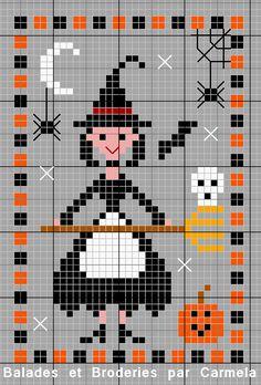 Cross Stitch Freebies, Counted Cross Stitch Patterns, Cross Stitch Embroidery, Embroidery Patterns, Halloween Embroidery, Halloween Cross Stitches, Halloween Crochet, Mini Cross Stitch, Cross Stitch Cards