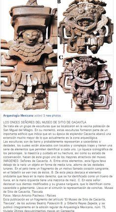 Los once senores del museo de sitio de Cacaxtla