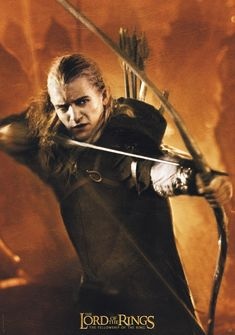 I am Legolas, and you have my bow.