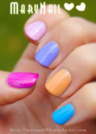 Springs colors by marynail