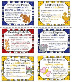 FREE - truly the best and most comprehensive list  (44 posters!) of Beanie Baby strategies I have ever seen!!  From Sailing Through 1st Grade: Reading and Writing Strategies