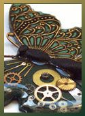 Polymer Clay and Resin Tutorial, Steampunk Butterfly