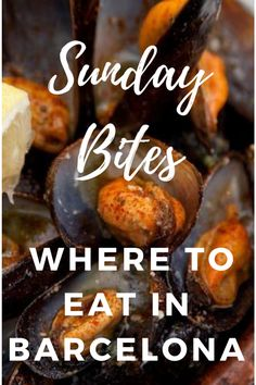 Not all restaurants and tapas bars are open on Sundays in Barcelona, but fear not! Find our favorite places for where to eat in Barcelona on Sundays. Barcelona Restaurants, Tapas Bar, Barcelona Travel, Majorca, Spain And Portugal, Cruise Travel, Best Places To Eat, Sunday Funday, Spain Travel