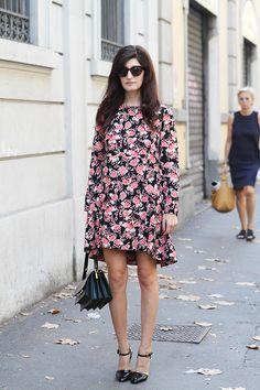Valentina Siragusa Milan Fashion Week Street Style ss15 photo by Claudia Bellotti for Tessabit